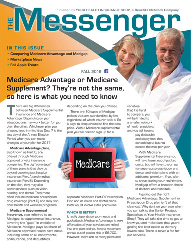 The Messenger - Summer 2016 Health Newletter Archive